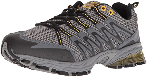 Avia Men's Avi-Terrain Running Shoe, Frost Iron Grey/Yellow Pepper, 8 M US