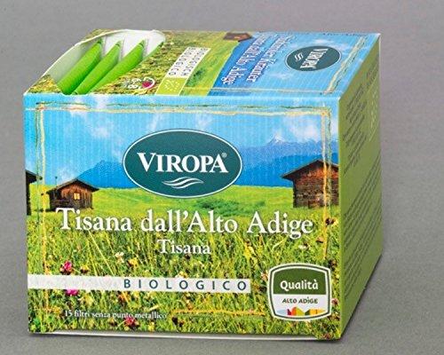Südtiroler Kräuter Tee Bio 15 Filterbeutel - Viropa