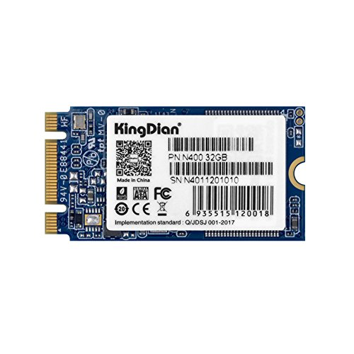 KingDian M.2 NGFF 30GB 60GB 120GB 240GB Solid State Drive Disk for Desktop PCs and MacPro (N400 32GB)