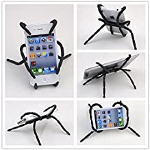 Universal Spider Stand,Waxplle Spider Phone Holder,Cell Phone Holder for car