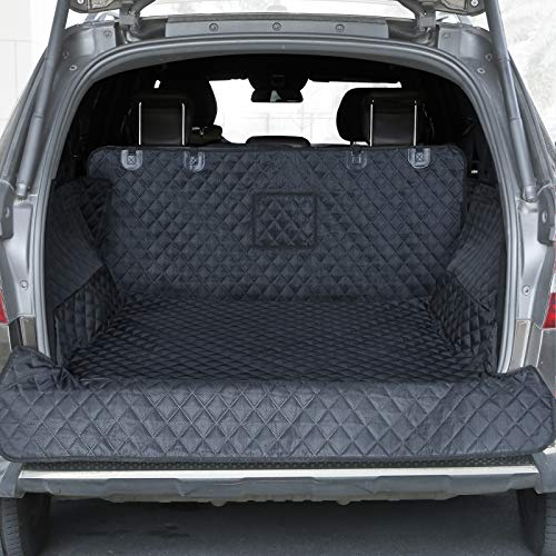 PETICON SUV Cargo Liner for Dogs, Waterproof Pet Cargo Cover Dog Seat Cover Mat...