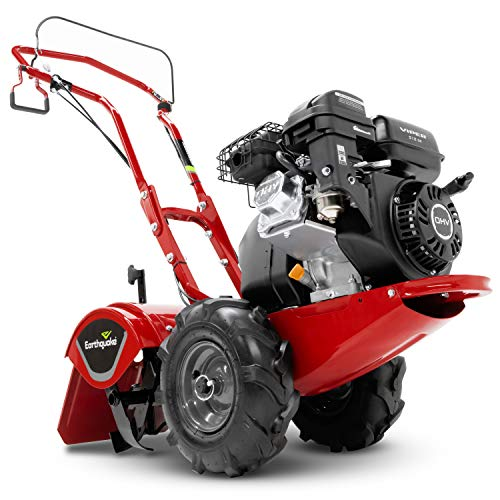 Best Deals! EARTHQUAKE 33970 Victory Rear Tine Tiller, Red