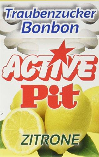 Active Pit Traubenzucker Bonbons Zitrone, 15er Pack (15 x 35 g)