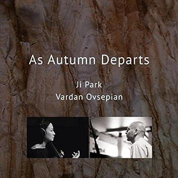 As Autumn Departs