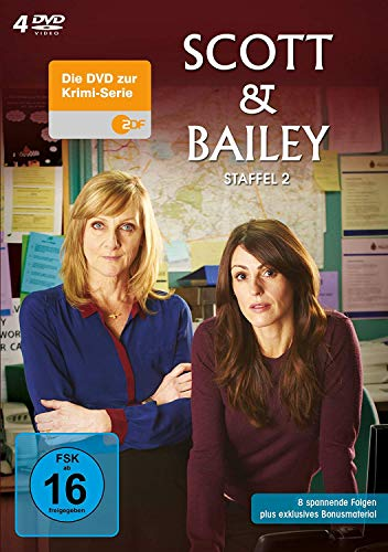 Scott & Bailey - Staffel 2 [4 DVDs]