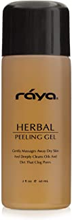 RAYA Herbal Facial Peeling Gel (110) | Gentle and Soft Exfoliator for Oily Skin | Helps Minimize Pores and Brighten Complexion