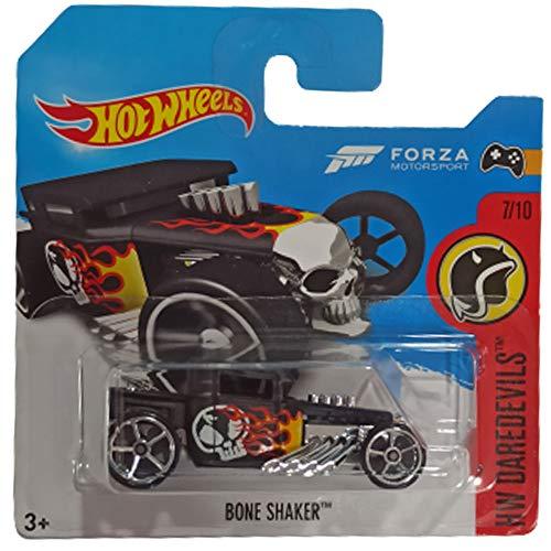 Hot Wheels Bone Shaker HW Dare Devils 7/10 2017 (208/365) Short Card