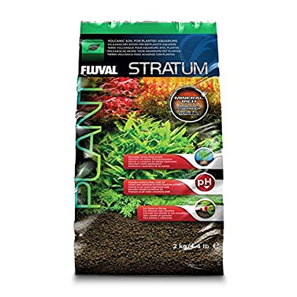 Fluval Stratum vulkanischer Bodengrund für Pflanzen- und Garnelenaquarien 2kg