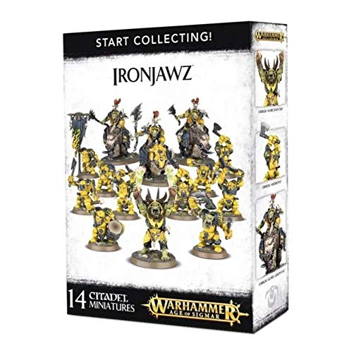 Games Workshop Warhammer Age Sigmar Start Collecting! Ironjawz