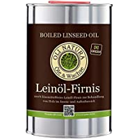 OLI-NATURA aceite de linaza barniz, conservación biológica de la madera, 1 litro, incoloro - natural