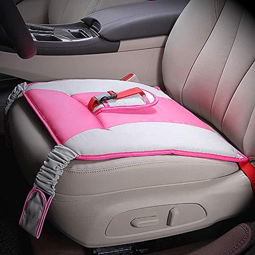 MULOVE auto stoel kussen voor zwangere vrouwen, zwangere Bump riem met verstelbare en zachte ademende pad roze