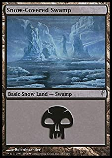 Magic: the Gathering - Snow-Covered Swamp - Coldsnap