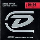Jim Dunlop DEN1056 Jeu de 7 cordes en acier nickelé pour guitare électrique