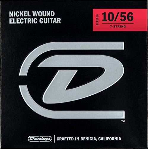 Jim Dunlop DEN1056 - Juego de cuerdas para guitarra eléctrica de acero y níquel