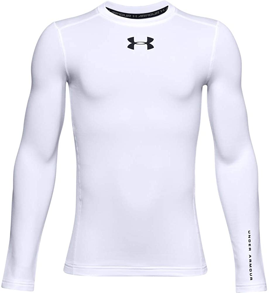 Under Armour Recommended Boys' Long-Sleeve ColdGear T-Shirt Credence