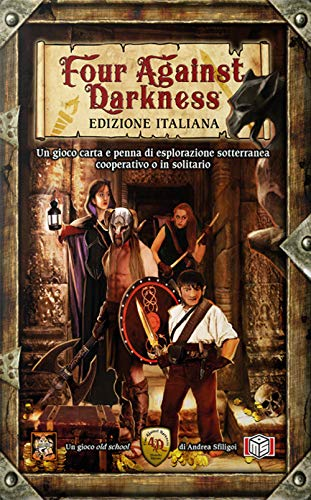 Ms Edizioni Iva Assolta- Four Against Darkness - First Reprint, 9788894282597
