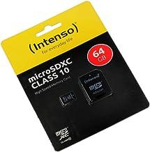 Lenovo C2, Tarjeta de Memoria microSDXC 64GB, Clase 10, High Speed, Adaptador SD, Velocidad r pida para Lectura y Escritura