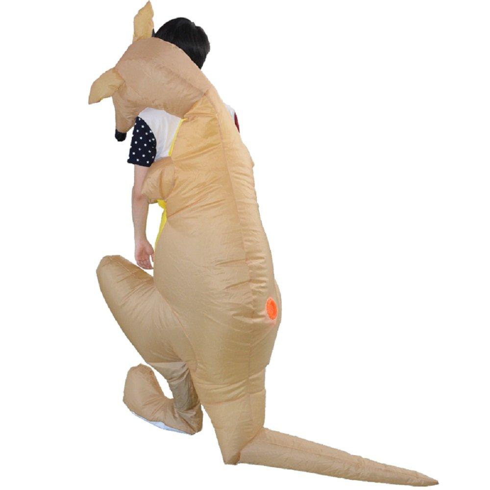 YOWESHOP - Disfraz Hinchable de Canguro para Adulto: Amazon.es ...