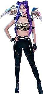 miccostumes Women's LOL KDA Kaisa Cosplay Costume Outfit