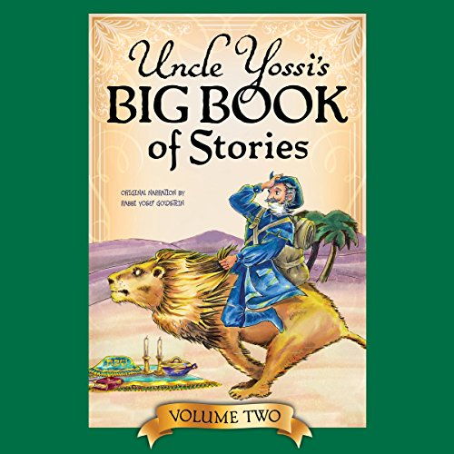 Uncle Yossi's Big Book of Stories - Vol. 2 audiobook cover art