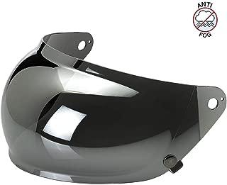 Biltwell Unisex-Adult (BA-CHR-GS-SD) Gringo S Bubble Shield-Chrome Mirror Anti-Fog, One Size)