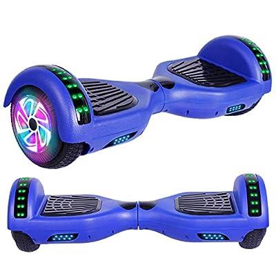 Felimoda Hoverboard, w/Bluetooth Speaker for Kid and Adult- UL2272 Certified (Blue)