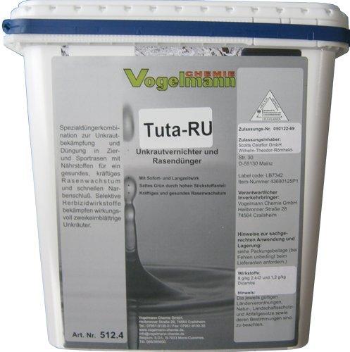 Vogelmann Chemie GmbH Unkrautvernichter mit Rasendünger Tuta RU 5kg