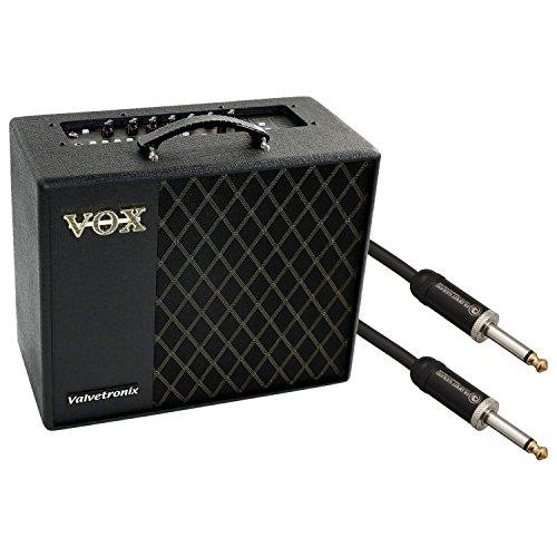 """VOX VT40X 40W Gitarren Modeling Verstärker w/Planet Waves American Stage 10\""""Instrument Kabel"""