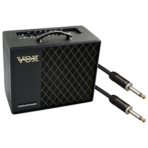 VOX VT40X 40W Gitarren Modeling Verstärker w/Planet Waves American Stage 10