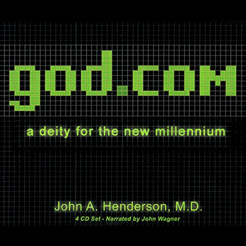 god.com audiobook cover art