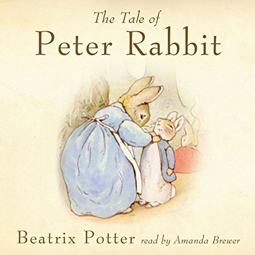The Tale of Peter Rabbit (Peace Mountain Edition)                   By:                                                                                                                                 Beatrix Potter                               Narrated by:                                                                                                                                 Amanda Brewer                      Length: 6 mins     2 ratings     Overall 5.0