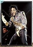 JCYMC Leinwand Bild Michael Jackson Poster Wandkunst König