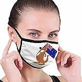 Australia Con Koala Kangaroo Cara Boca Guarder Moda Hombres Personalizado Camping Escuela Mañana Ejercicio