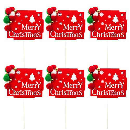 Inserções De Bola De Lã De Decoração De Natal 6 (Árvore De Natal Quadrada Vermelha De Bola De Fúria)