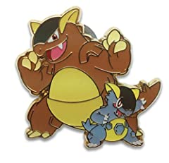 A single individual pin from the Pokemon trading and collectible card game (TCG/CCG).