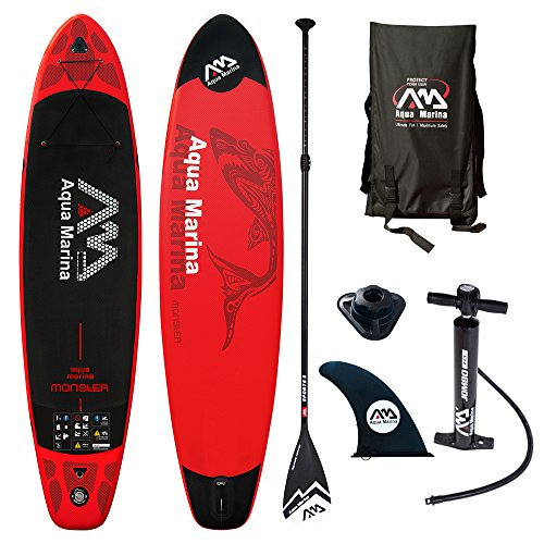 Aqua Marina Monster Modell 2018 12.0 iSUP Sup Stand Up Paddle Board...
