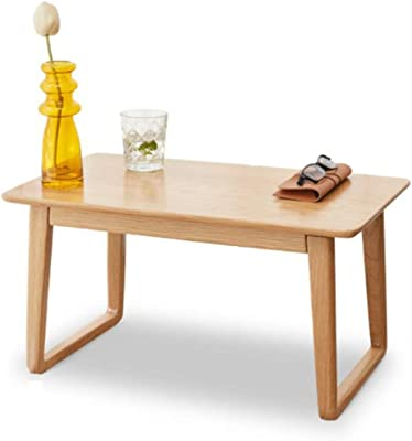 Multifunctional Small Table Living Room Reception Room Tea Table Solid Wood Bay Window Table Tatami Coffee Table Office Home Tea Table (Color : Wood, Size : 60 * 31 * 35cm)