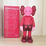 Prototype KAWS Model Art Toys Action Figure Collectible Model Toy Home Decoration Gift for Family Friends 8' 20cm (Red)
