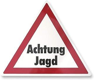 Waidmannsbrücke Warndreieck Achtung Jagd