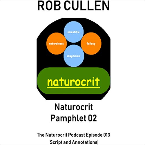 Naturocrit Pamphlet 02 audiobook cover art