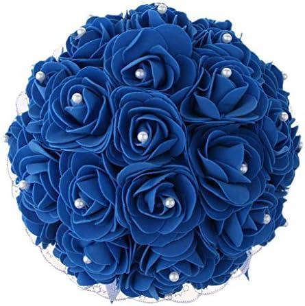 Royal blue bouquet _image3