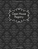 Open House Registry: Visitor Registration Sign in Book, Guest Log Book