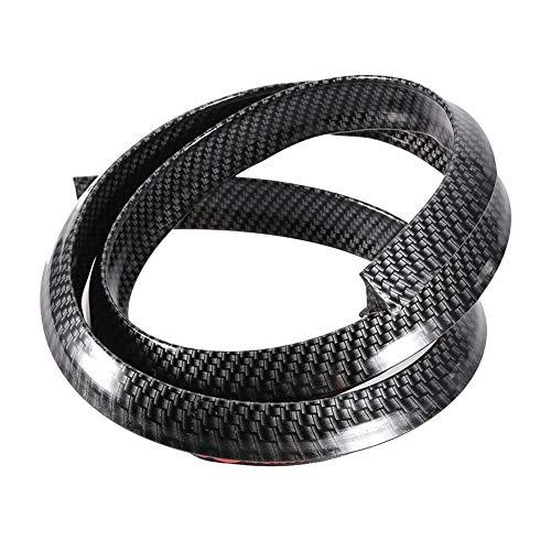 Vobor Auto Radlauf Augenbrauen Protector-Carbon Fender Flares Auto Radlauf Augenbrauen schützen Anti-Scratch-Pad