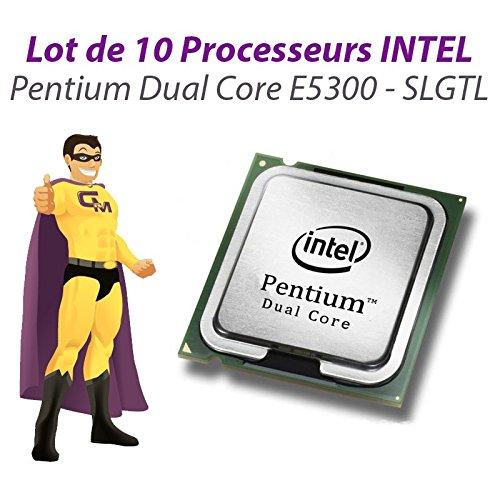 Set x10Prozessoren CPU Intel Pentium Dual Core E53002.6GHz 800MHz LGA775slgtl