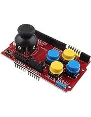 HALJIA JoyStick knappsats sköld expansion örnspel joystick simulering tangentbord och musfunktion kompatibel med Arduino Nrf24l01 5110 Lcd I2c IIC