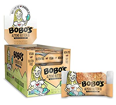 Bobo's Oat Bars, Gluten Free Bars, Chocolate Chip, Pack of 12