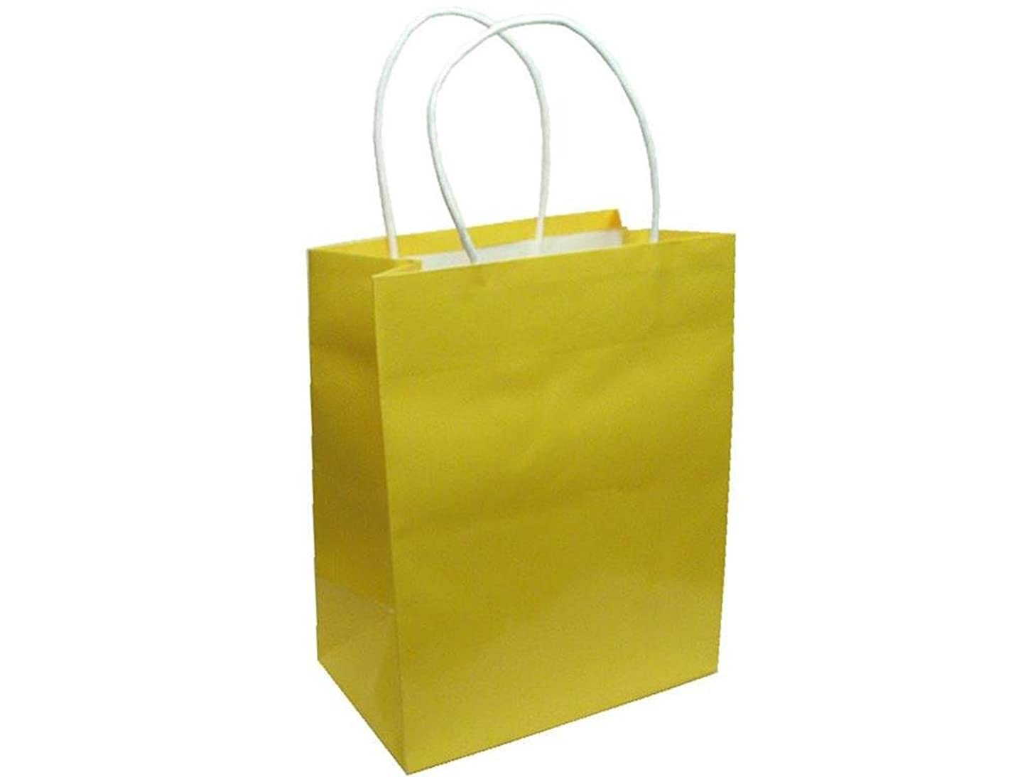 Cindus GiftBagClayCoatMedCanaryYellow Gift Bag Clay Coat Med Canary Yellow