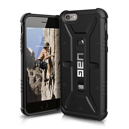 UAG iPhone 6 / iPhone 6s [4.7-inch screen] Feather-Light Composite [BLACK] Military Drop Tested Phone Case