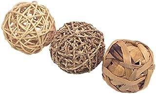 Rosewood Boredom Breaker Juguete de Actividades pequeños Animales trío de Fun Balls, tamaño Mediano