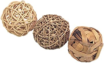 Rosewood Naturals Fun Ball Trio (Pack Of 3)